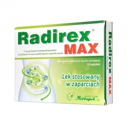 Radirex MAX, 10 kapsułek