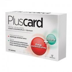 Pluscard, 100mg+40mg, 60 tabletek