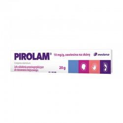 Pirolam, 10mg/g, zawiesina na skórę, 20g