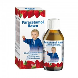 Paracetamol Hasco, 120 mg/5 ml, zawiesina doustna, 150 g