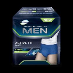Bielizna chłonna TENA Men Active Fit Pants Large, 95 do 130 cm, 8 sztuk