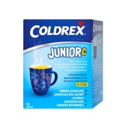 Coldrex Junior C prosz.dosp.zaw.10sasz.
