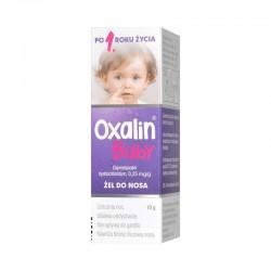 Oxalin Baby 0,25mg/g, żel do nosa dla dzieci od 1 roku życia, 10g