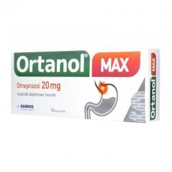 Ortanol Max, 20mg, 14 kapsułek dojelitowych