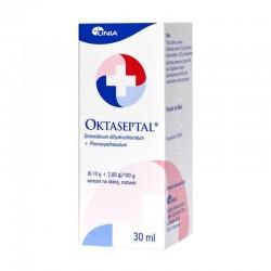 Oktaseptal, (0,1g+2g)/100g, aerozol na skórę, 30ml