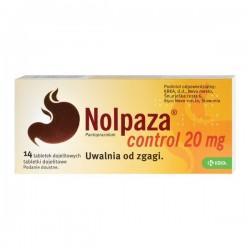 Nolpaza Control, 20mg, 14 tabletek
