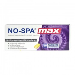 No-Spa MAX, 80mg, 20 tabletek