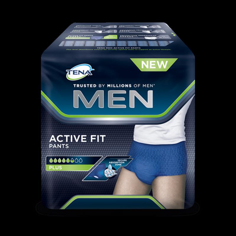 Bielizna chłonna TENA Men Active Fit Pants Medium, 75 do 105 cm,  9 sztuk