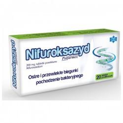 Nifuroksazyd Polfarmex, 200 mg, 20 tabletek