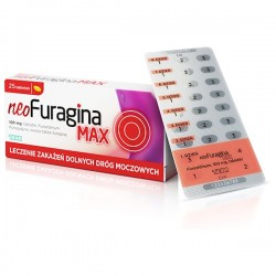 NeoFuragina Max, 100mg, 25 tabletek