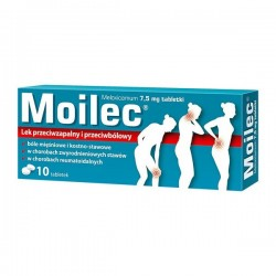 Moilec, 7,5mg, 10 tabletek