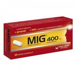 MIG, 400mg, 20 tabletek