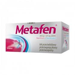 Metafen 200mg + 325mg, 50 tabletek