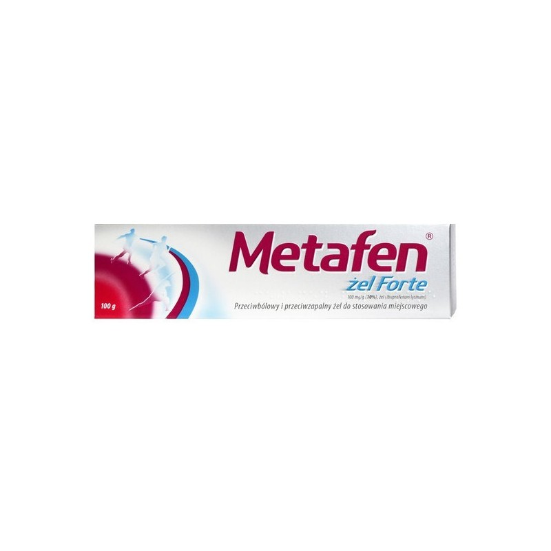 Metafen Forte 10%, 100mg/g, żel, 100g