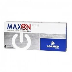 Maxon Active 25mg, 4 tabletki