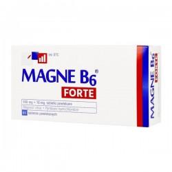 Magne B6 Forte, 100mg+10mg, 60 tabletek