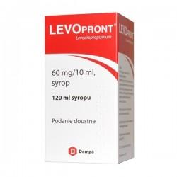 Levopront, 60mg/10ml, syrop, 120ml