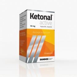 Ketonal Active, 50mg, 10 kapsułek