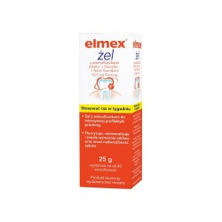 Elmex, 12,5 mg fluoru/g, żel, 25 g, GABA GMBH