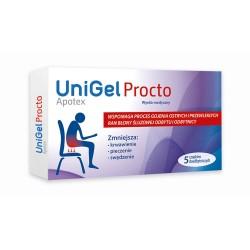 UniGelApotex Procto, 5 czopków doodbytniczych