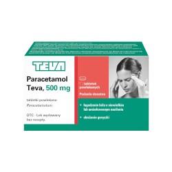 Paracetamol Teva (Omnipap) tabl.powl. 0,5g