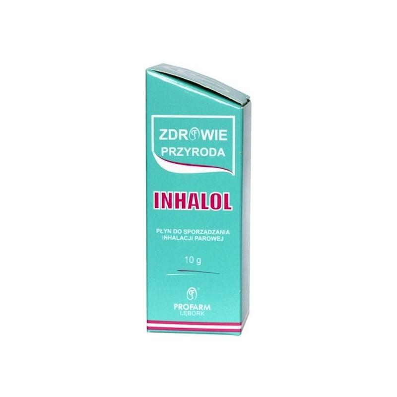 Inhalol płyn do sporz. inh. parowej 10 g