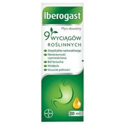 Iberogast, płyn doustny, 20 ml