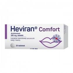 Heviran Comfort, 200mg, 25 tabletek