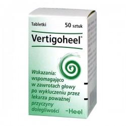 HEEL Vertigoheel, 50 tabletek