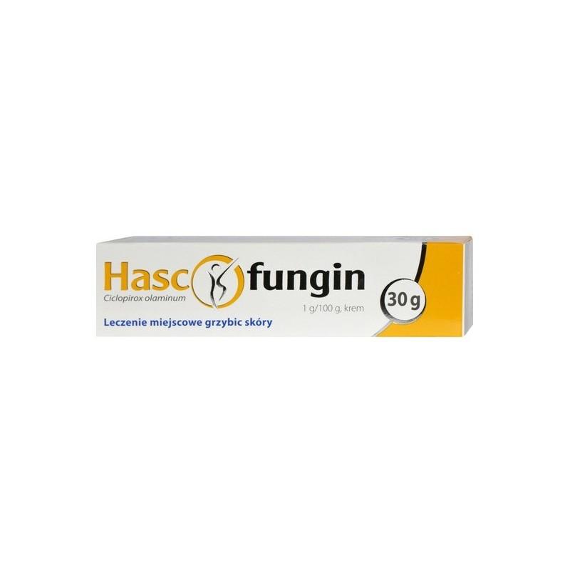 Hascofungin, 1 g/100 g, krem, 30 g
