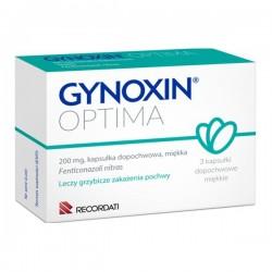 Gynoxin Optima, 200mg, 3 kapsułki dopochwowe