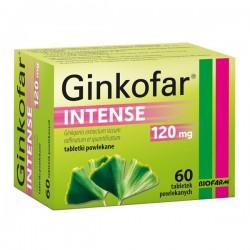 Ginkofar Intense, 120mg, 60 tabletek