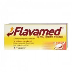 Flavamed, 60mg, 10 tabletek musujących