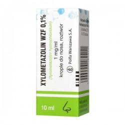 Xylometazolin WZF, 1mg/ml, krople do nosa, 10ml