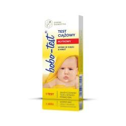 Test ciążowy BOBO-test EZ HCG płytkowy 1sz