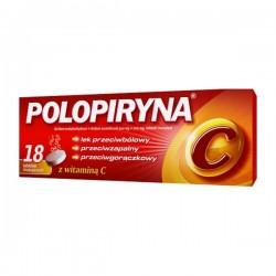 Polopiryna, 18 tabletek musujących