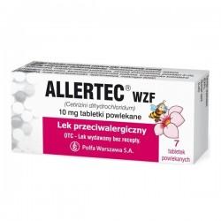 Allertec WZF, 10mg, 7 tabletek
