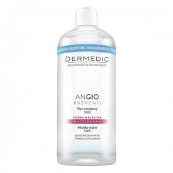 DERMEDIC Angio Preventi, płyn micelarny do skóry wrażliwej, 500ml