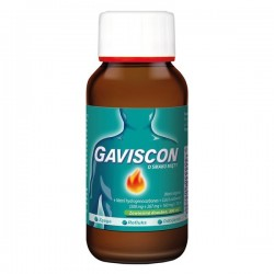 Gaviscon (500mg+267mg+160mg)/10ml, smak mięty, zawiesina doustna, 150ml