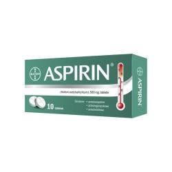 Aspirin tabl. 0,5 g 10 tabl. (karton)