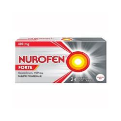 Nurofen Forte tabl.powl. 0,4 g 24 tabl.