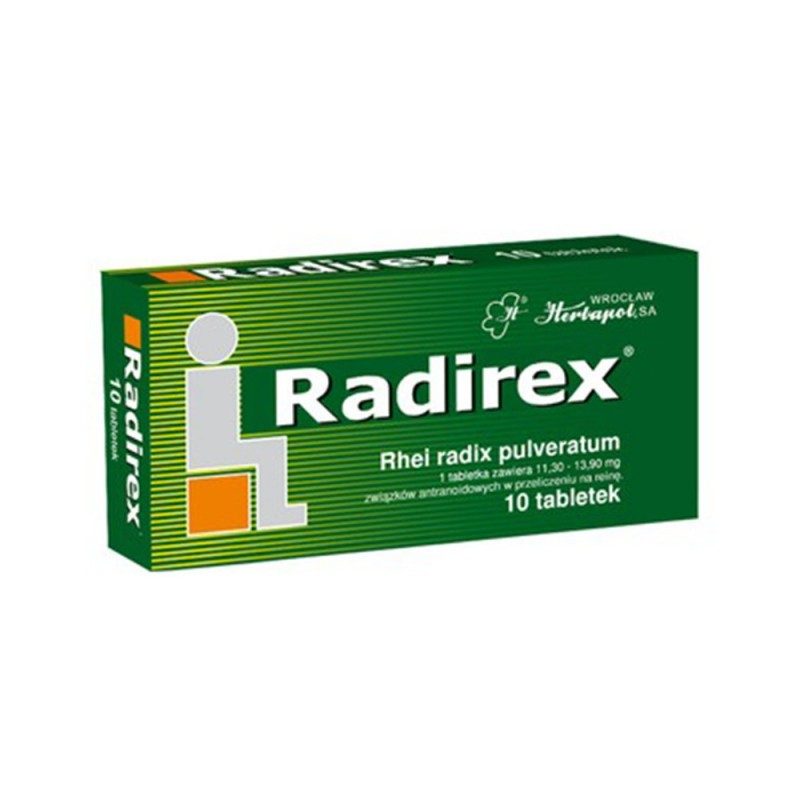 Radirex tabl. 10 tabl.