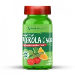 XeniVIT bio ACEROLA C 500, 60 tabletek do ssania