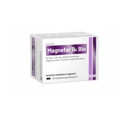 Magnefar B6 Bio tabl.powl. 0,06gjonówMg2++