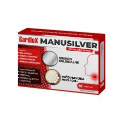 Gardlox Manusilver pastylki do ssania 16pa