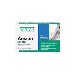 Aescin, 20 mg, 90 tabletek