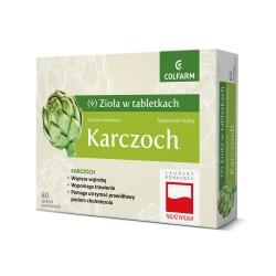 Karczoch, 60 tabletek, COLFARM