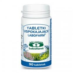 Edytuj: Tabletki uspokajające LABOFARM, 170mg + 50mg + 50mg + 50mg, 90 tabletek
