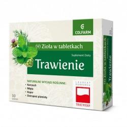 ZIOŁA W TABLETKACH, Trawienie, 30 tabletek, COLFARM