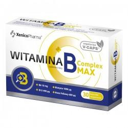 Witamina B Complex MAX, 30 kapsułek